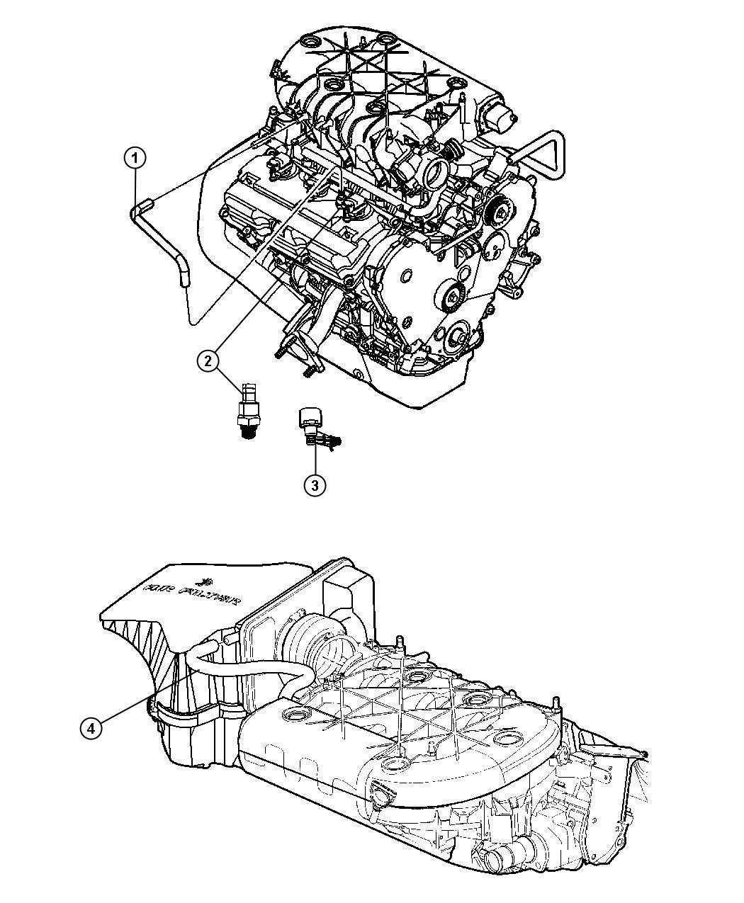 Chrysler Pacifica Connector 90 Degree Elbow 90
