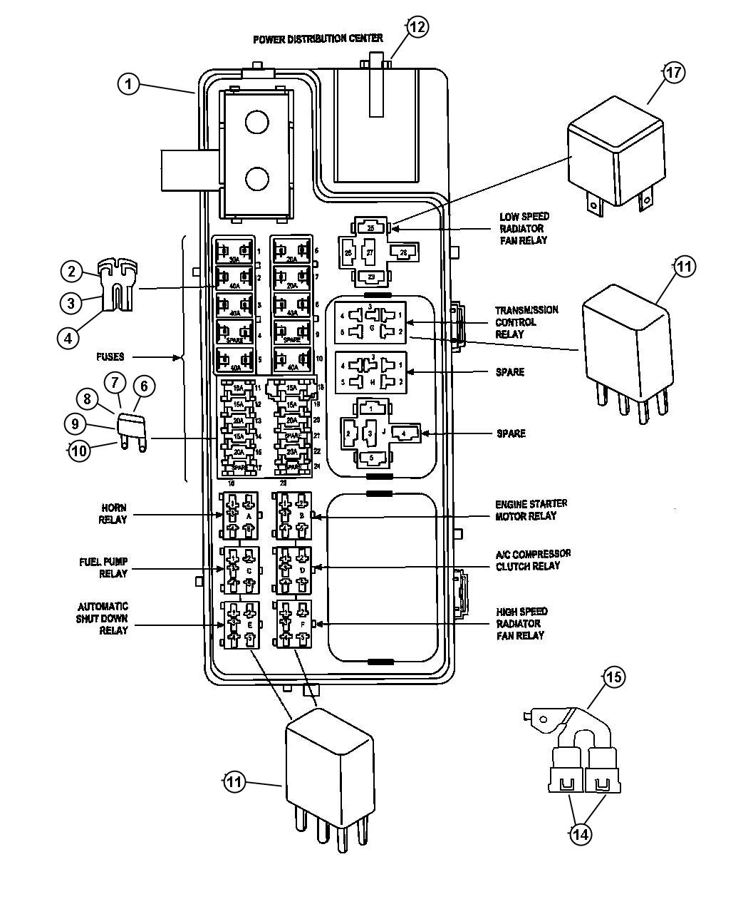 2013 Jeep Compass Module. Totally integrated power