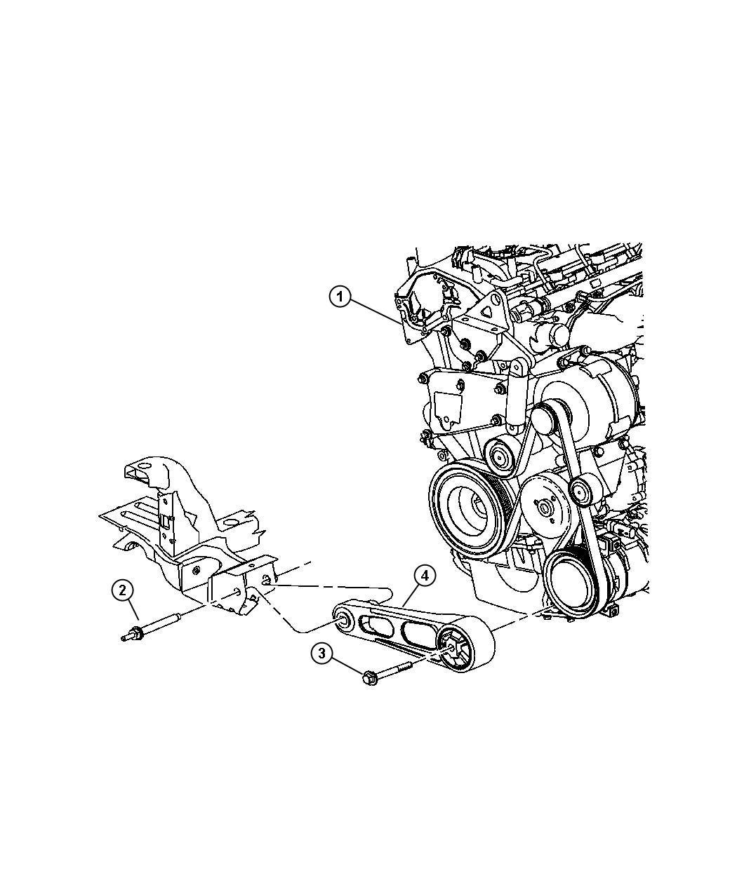 Jeep Patriot Isolator, strut. Torque reaction