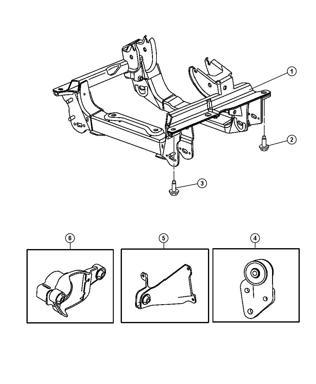 Jeep Liberty Bolt Used For Screw And Washer