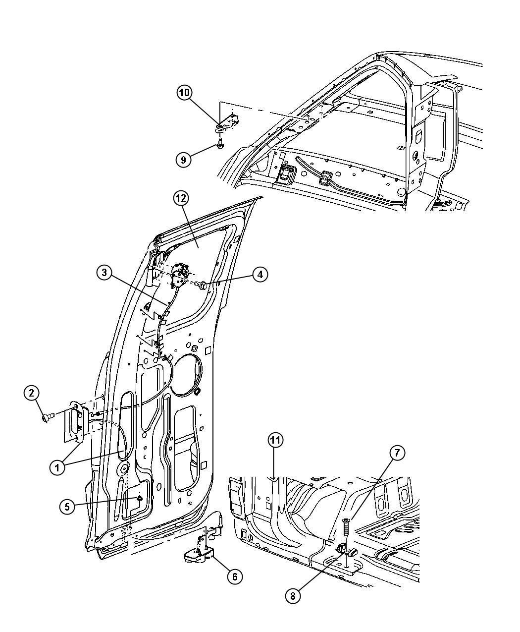 Dodge Dakota Handle. Cargo door shutface. Right. Rear, cab