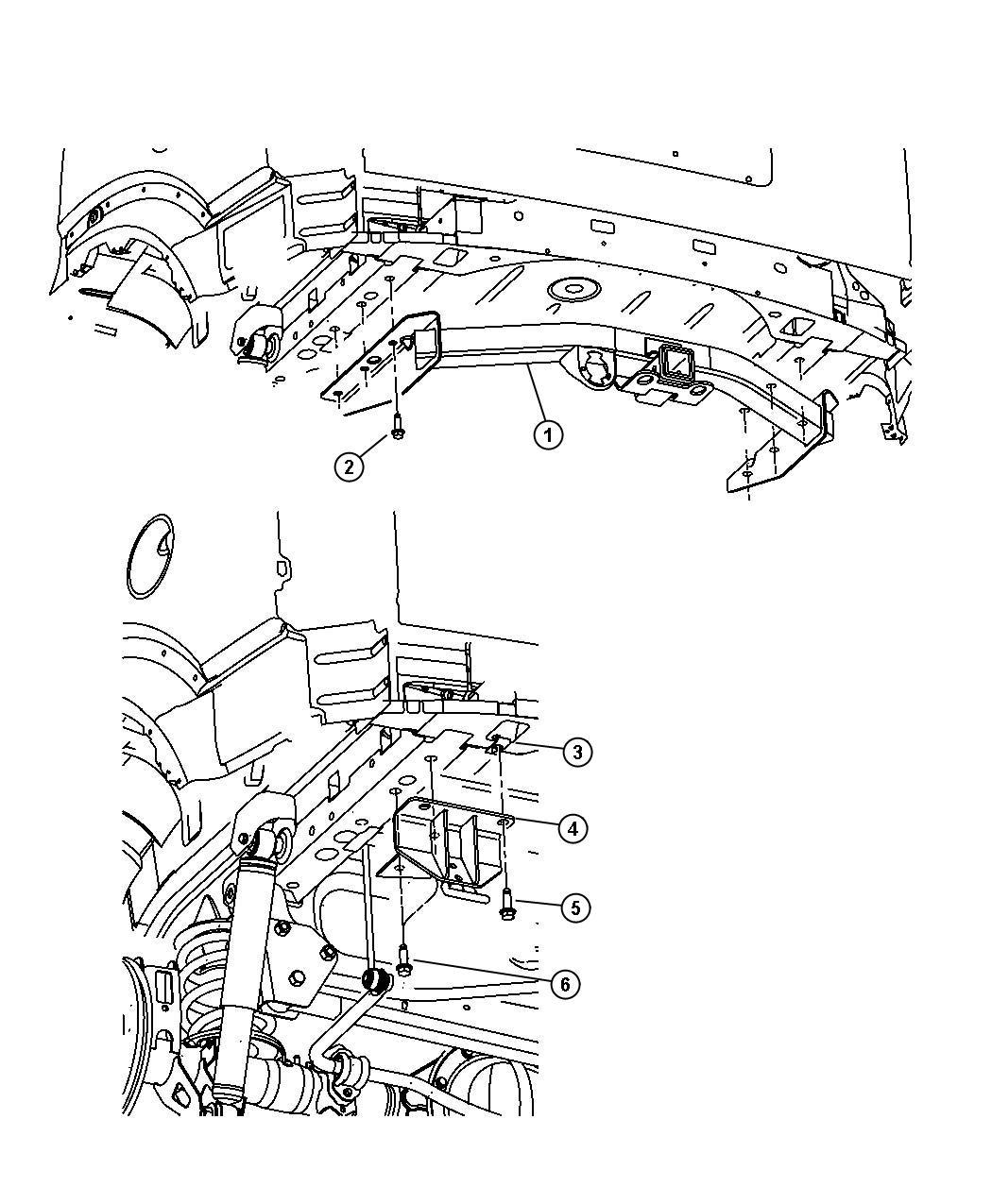 Chrysler 300 Nut U Multi Thread Tow Hooks Tow Eye