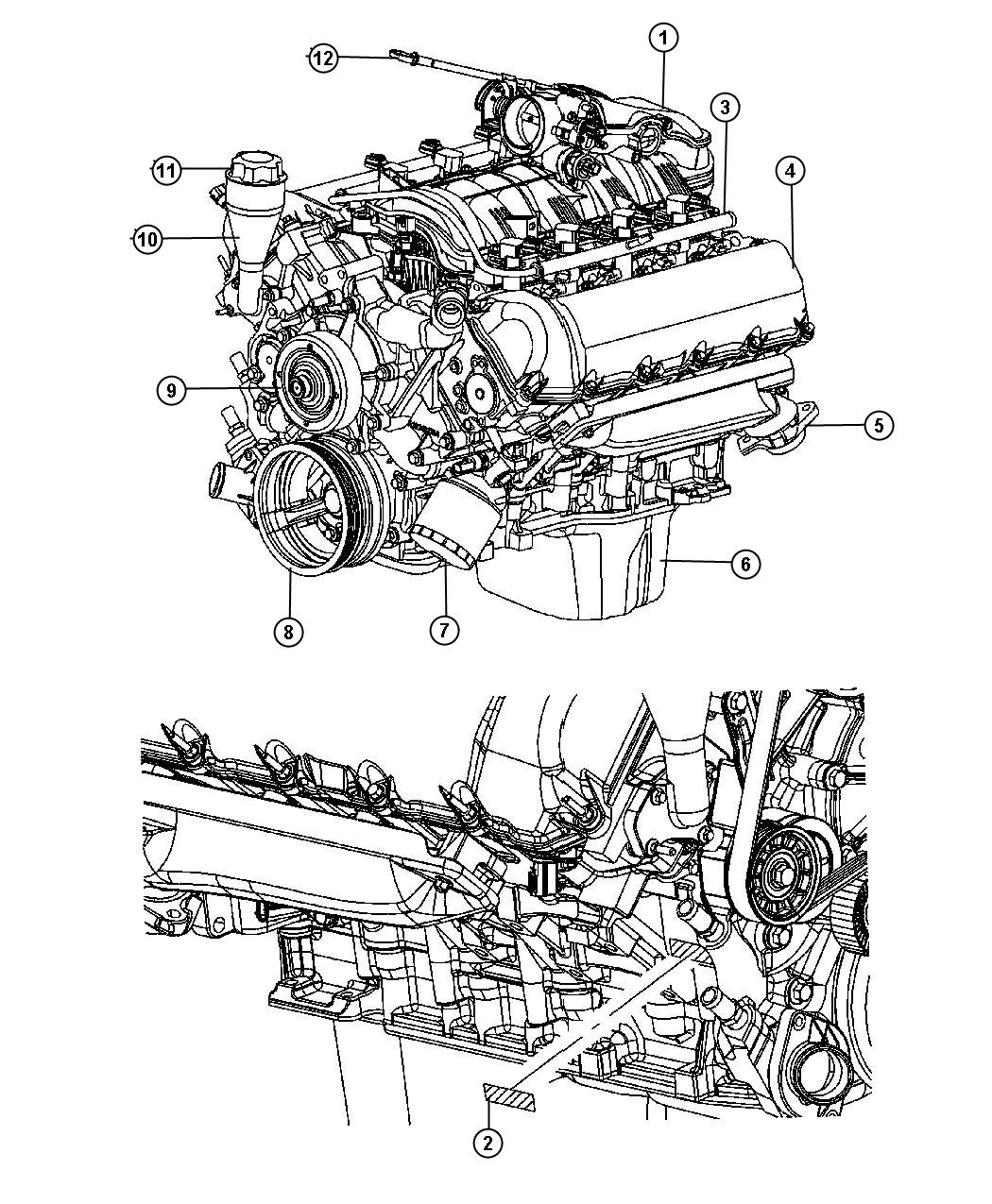 Dodge Ram Manifold Exhaust Left Engine Mpi Ffv