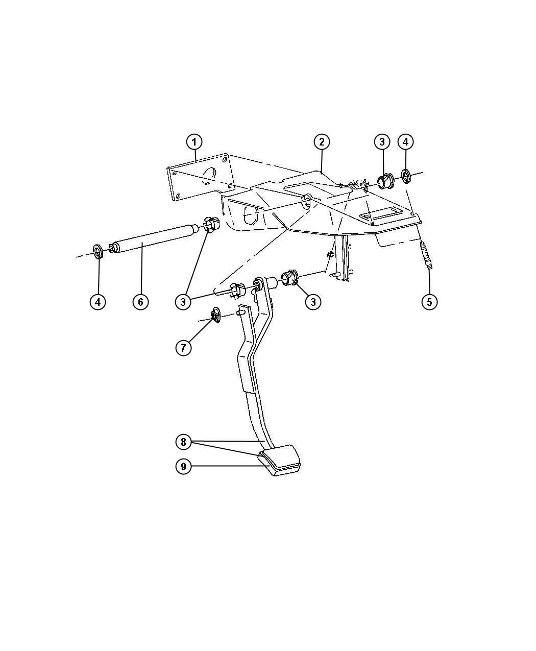 Dodge Ram Bracket Steering Column Used For Clutch