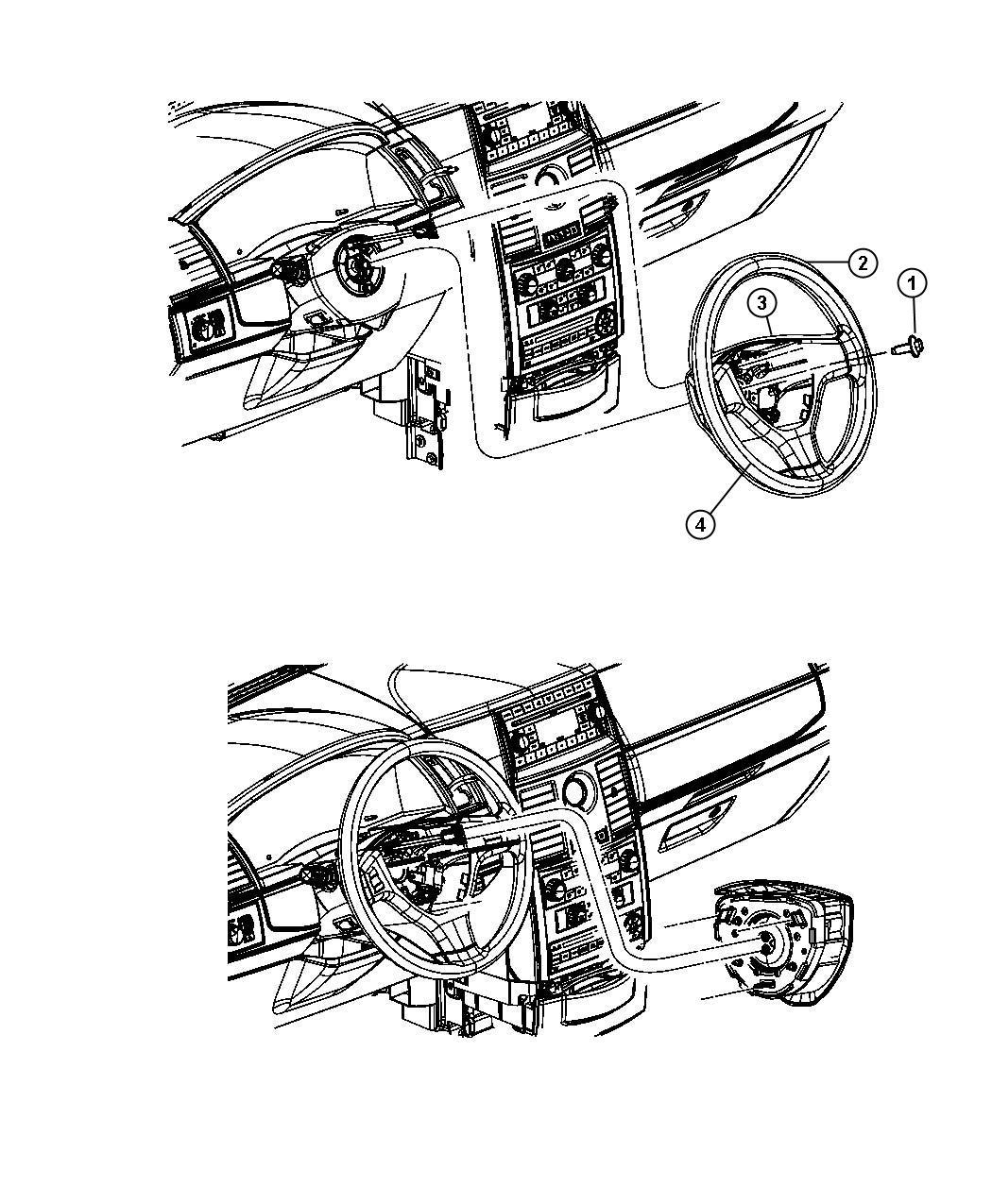 2010 Dodge Grand Caravan Wheel. Steering. [ks][scl], [t1