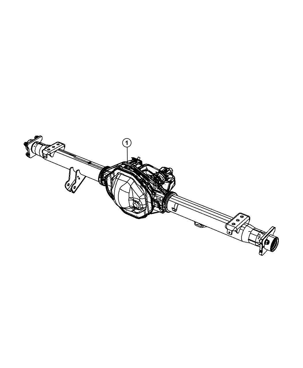 Dodge Ram Axle Service Rear Anti Ratio Spin
