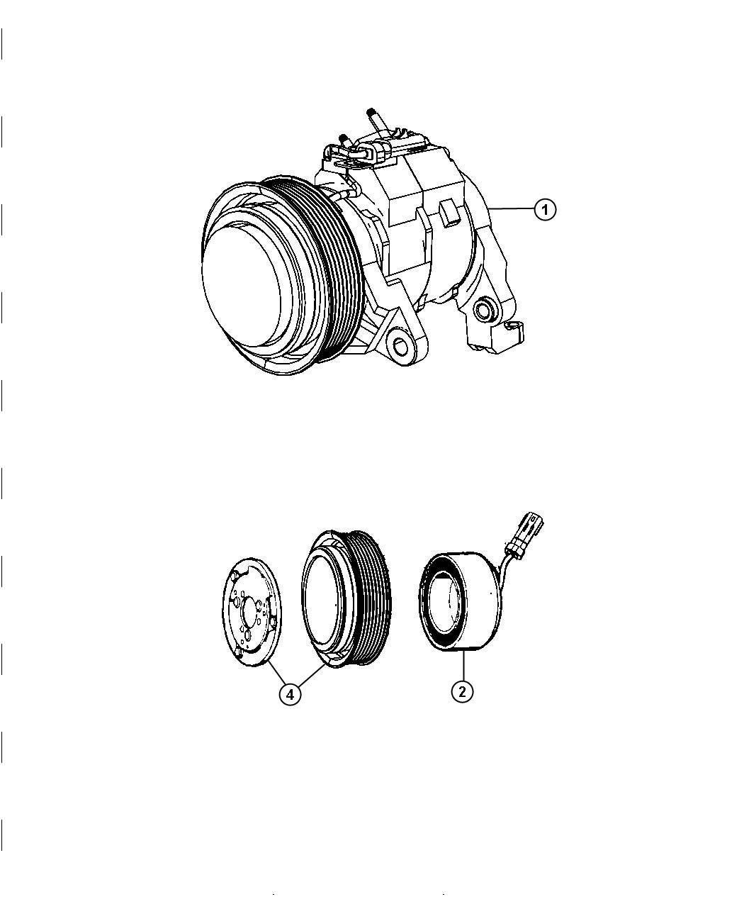 Dodge Ram Clutch Overhaul Kit A C Compressor Air