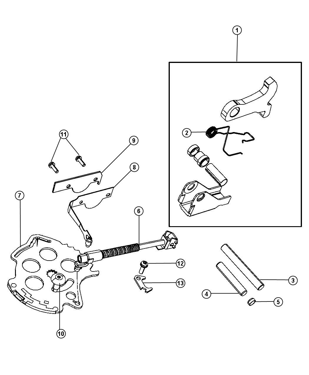 Chrysler Town Amp Country Lever Manual Valve Super Track