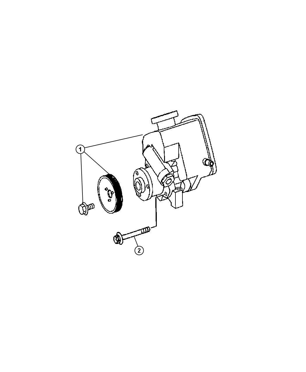 Dodge Sprinter Pump Power Steering