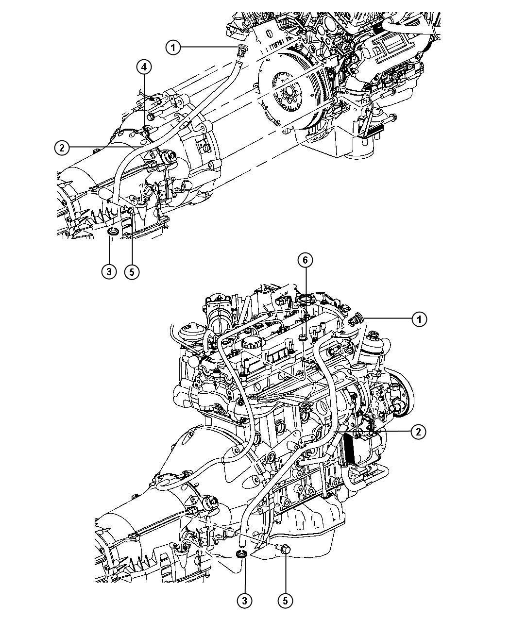 Dodge Nitro Tube Oil Filler