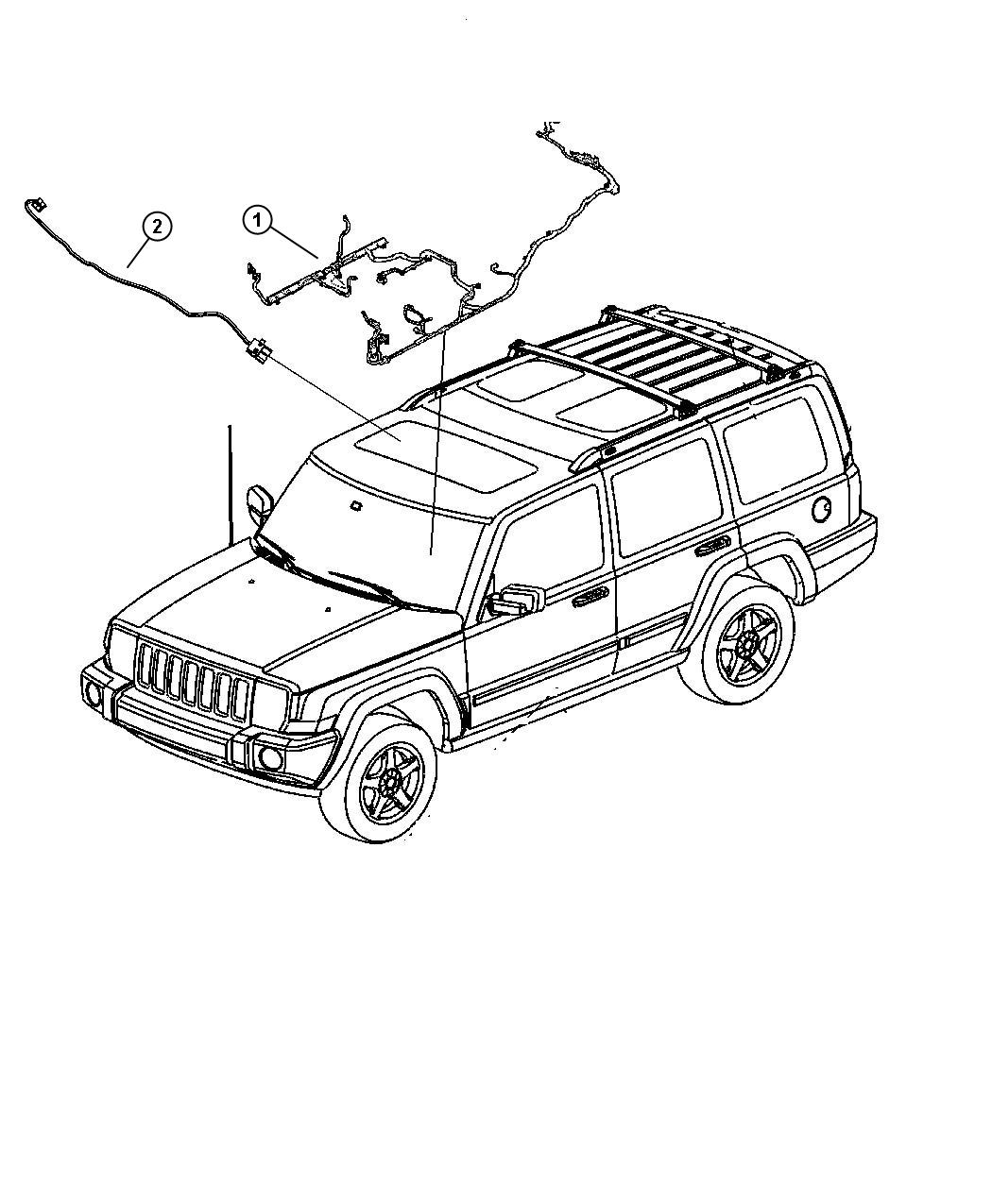 2010 Oem Jeep Commander Wiring Diagrams. Jeep. Auto Wiring