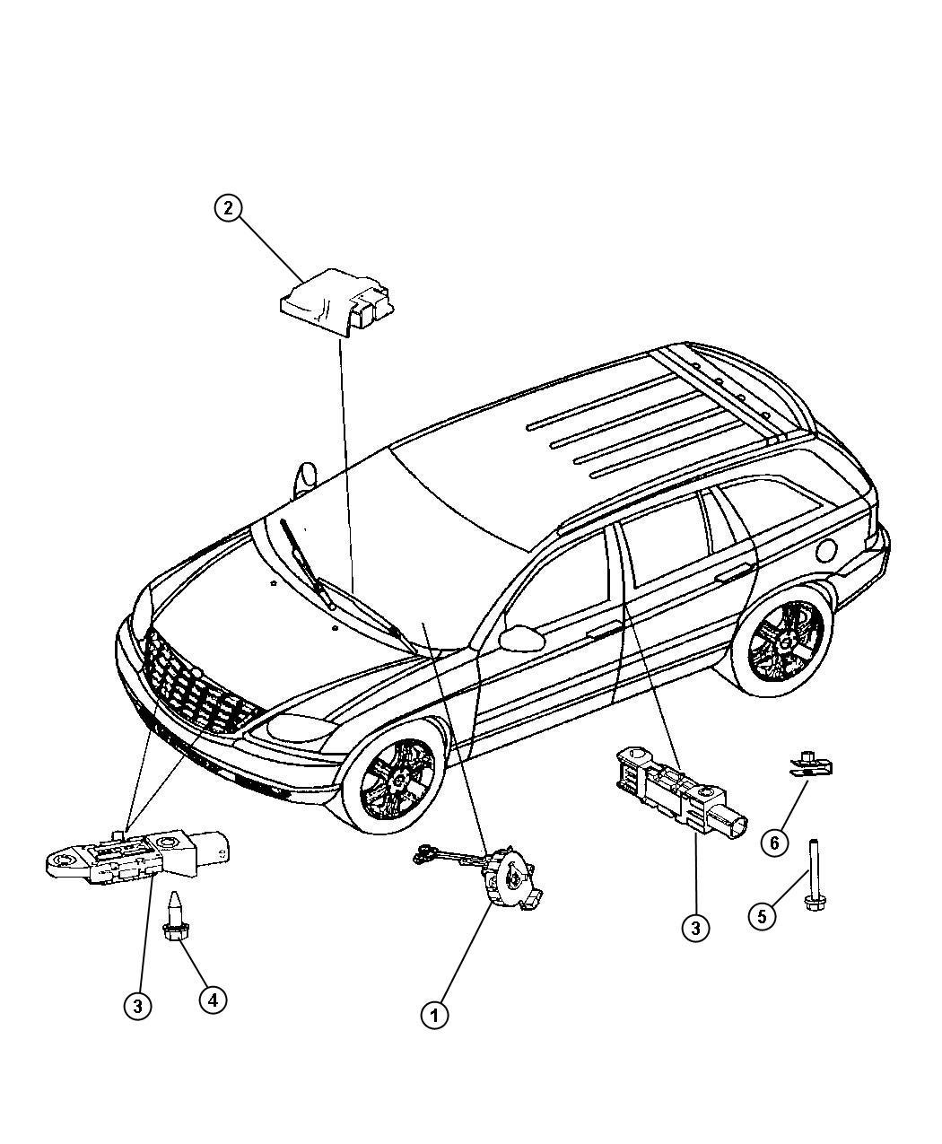 Chrysler Pacifica Clockspring Fog Lamps
