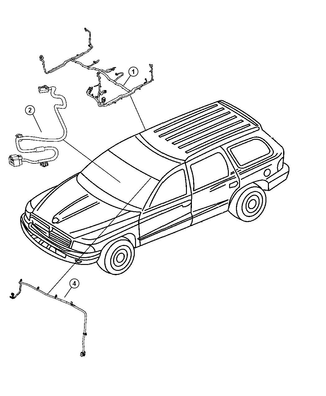 2008 Chrysler Aspen Wiring. Body. Interior. [hbb, cgs, jpm