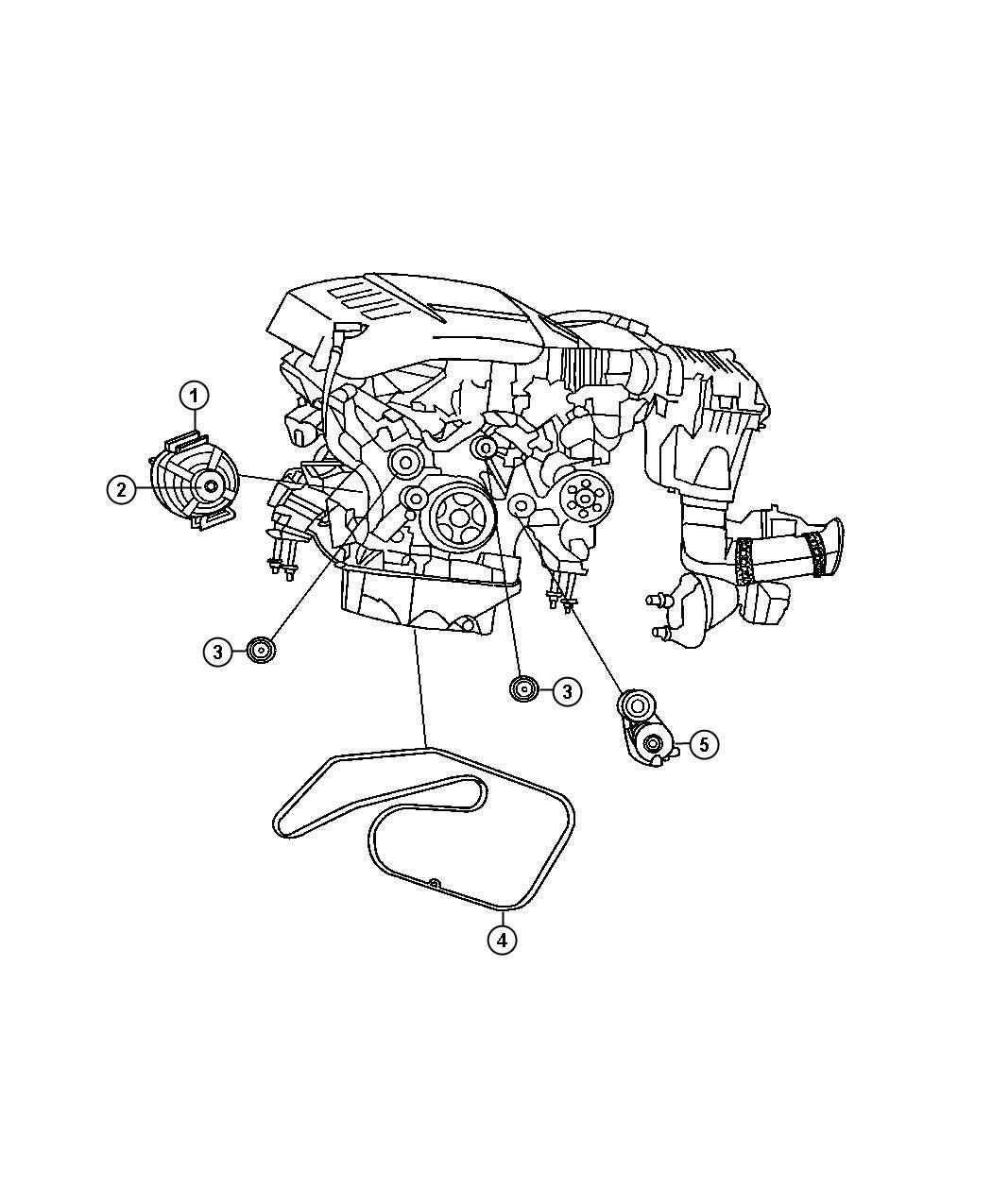 Dodge Sprinter Pulley Alternator Relatedsel
