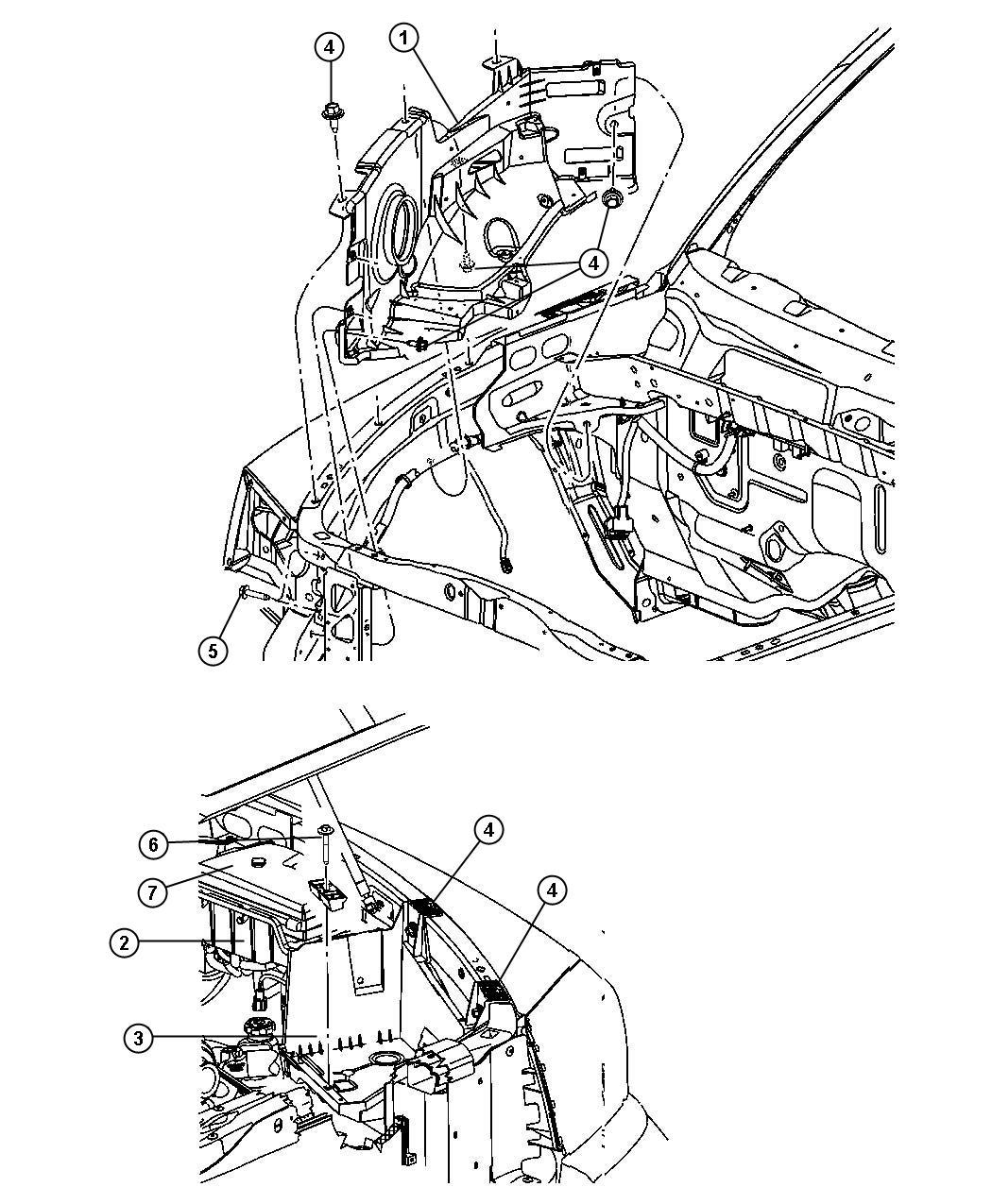 Dodge Dakota Screw Hex Head M8x1 25x25