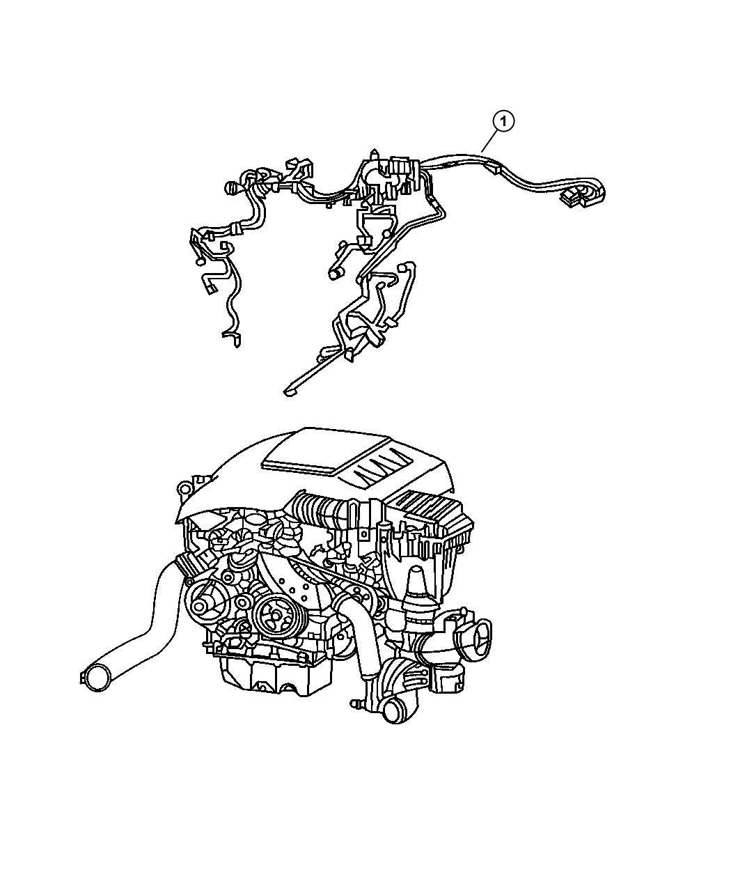 Jeep Grand Cherokee Wiring. Engine. After, diesel
