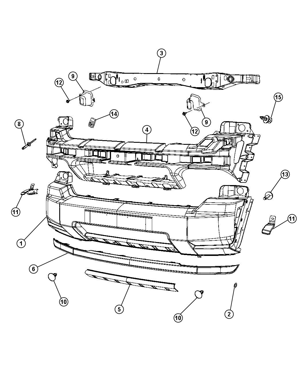 2012 Jeep Liberty Absorber. Front energy. [mcy], [mla
