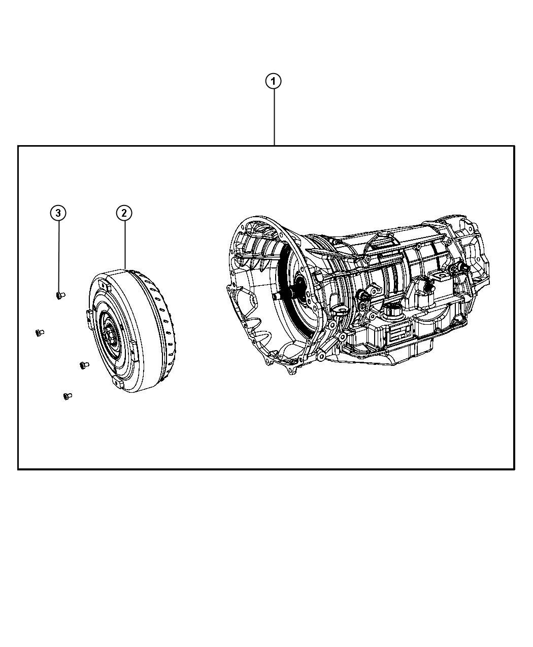 Dodge Durango Transmission package. With torque converter
