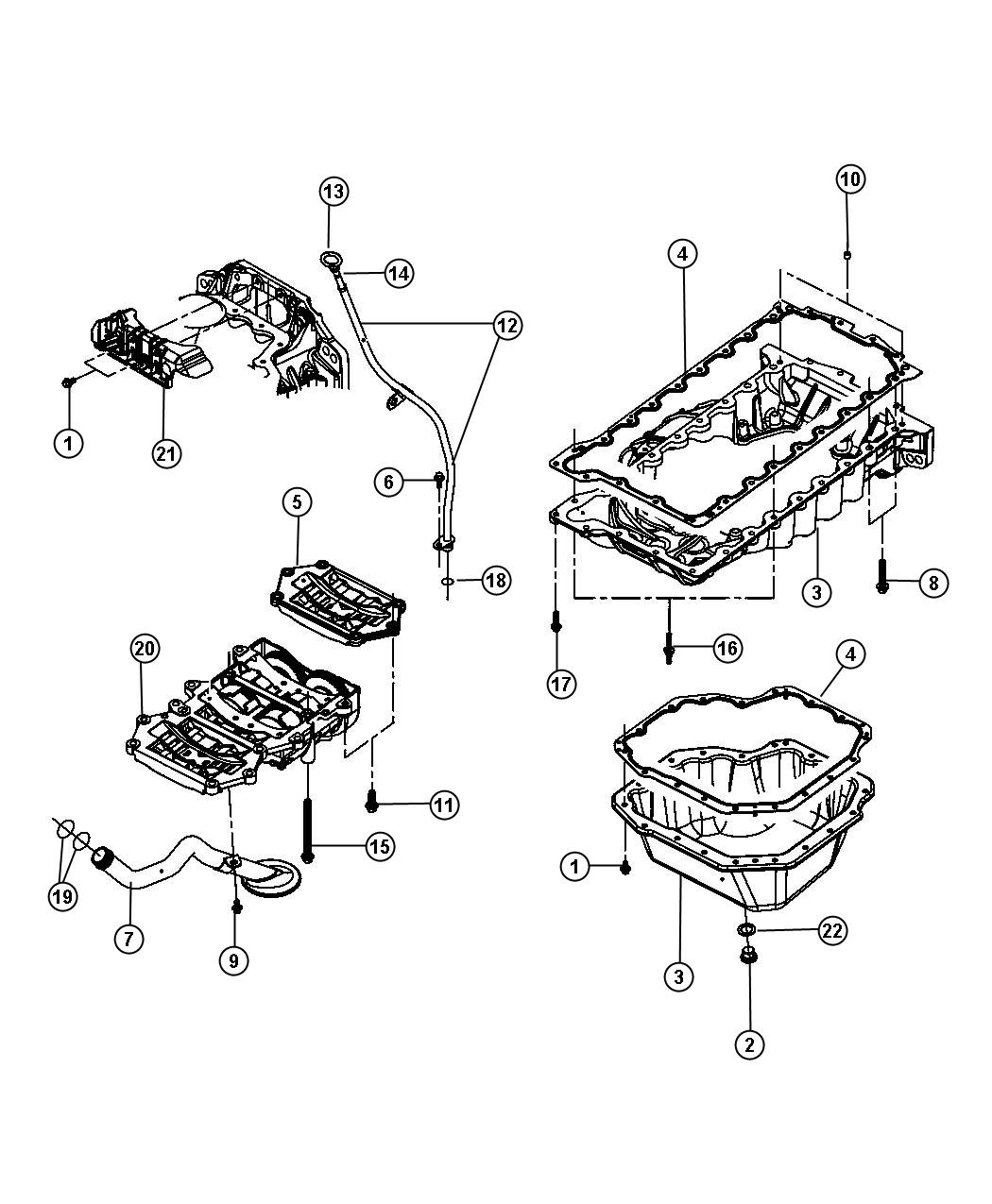 Chrysler Pt Cruiser Plug Oil Drain