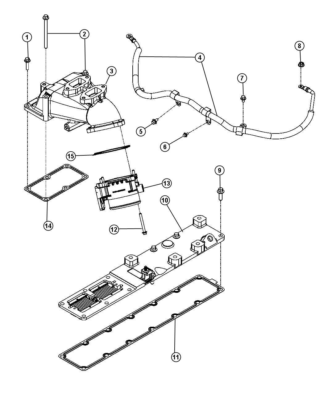 Dodge Ram Throttle Body Valve Intake Throttle