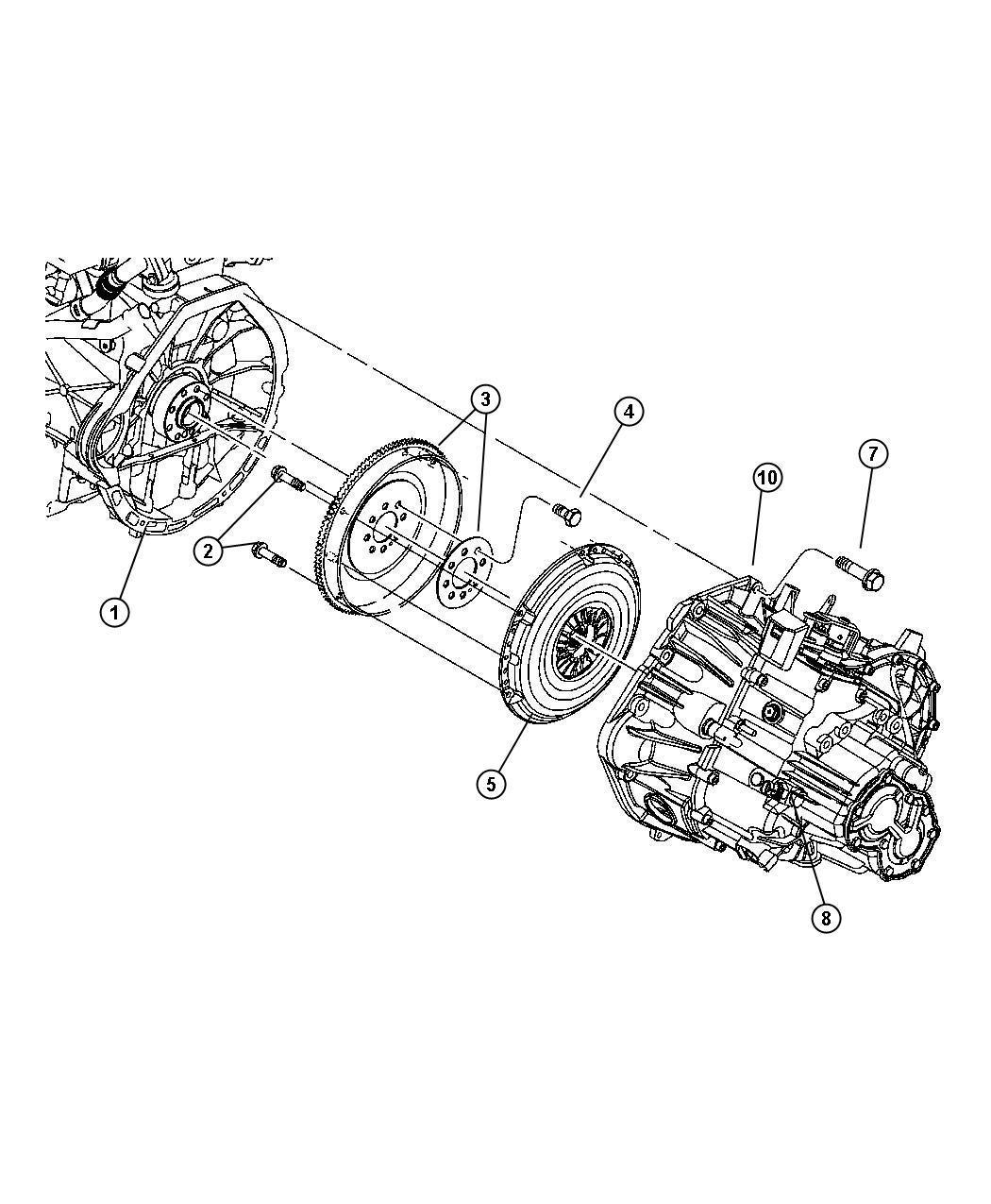 Dodge Avenger Plate Clutch Pressure Includes Pressusre