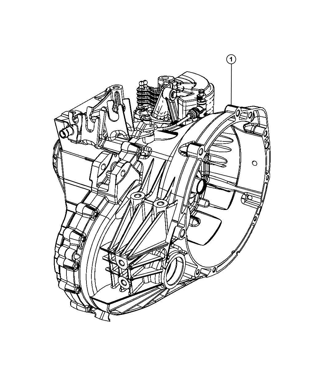 Dodge Caliber Trans Transmission Transaxle
