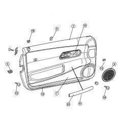 chrysler crossfire oem parts diagrams chrysler auto [ 1050 x 1275 Pixel ]