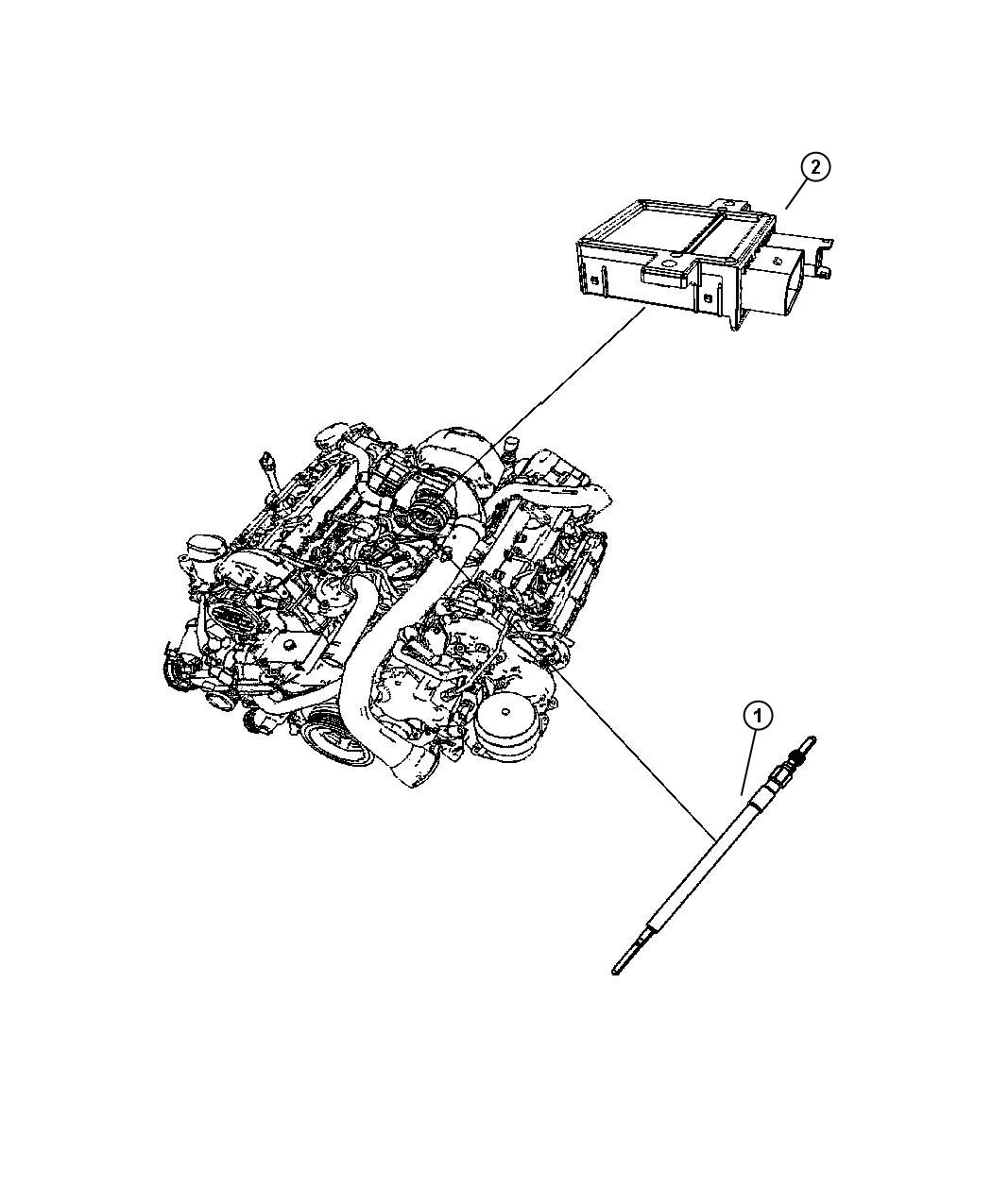 Dodge Sprinter Plug Plugs Glow Sensors