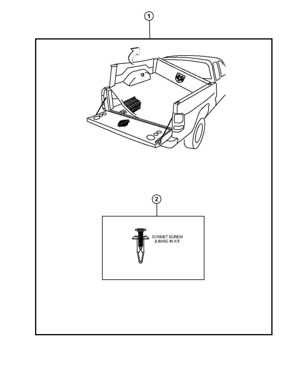 Dodge Dakota Install Kit Bedliner
