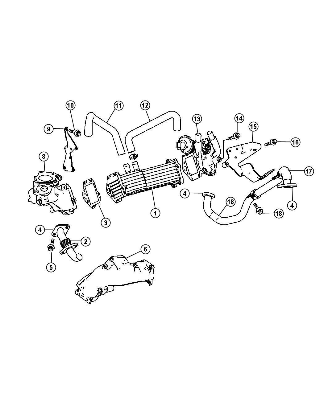 Dodge Sprinter Valve Egr Cooler Vacuum Valve Egr