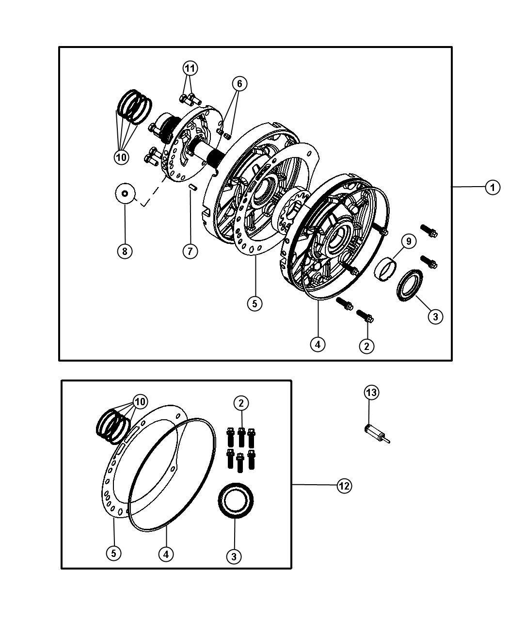 Dodge Journey Pump Kit Transmission Oil