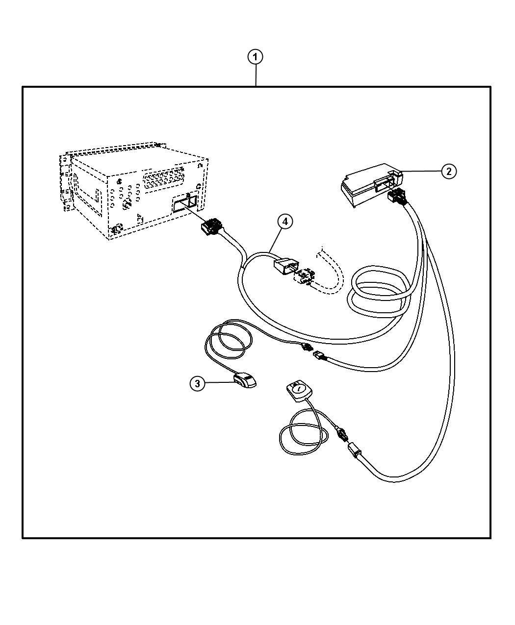 Chrysler Sebring Harness Export Phone Cellular Kit