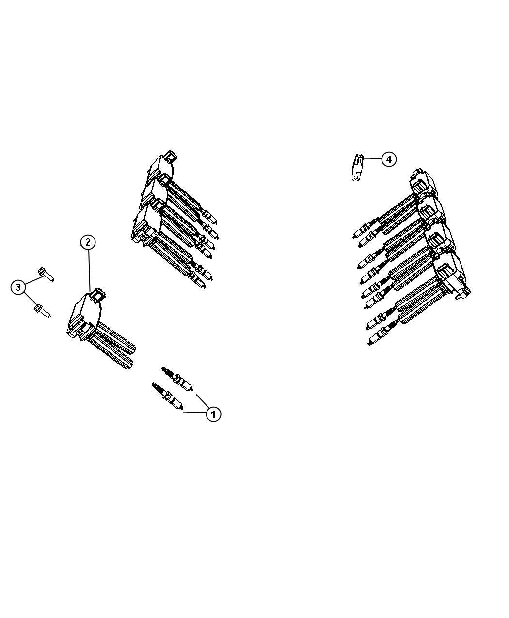 Dodge Challenger Spark Plug Ignition Plugs Engine
