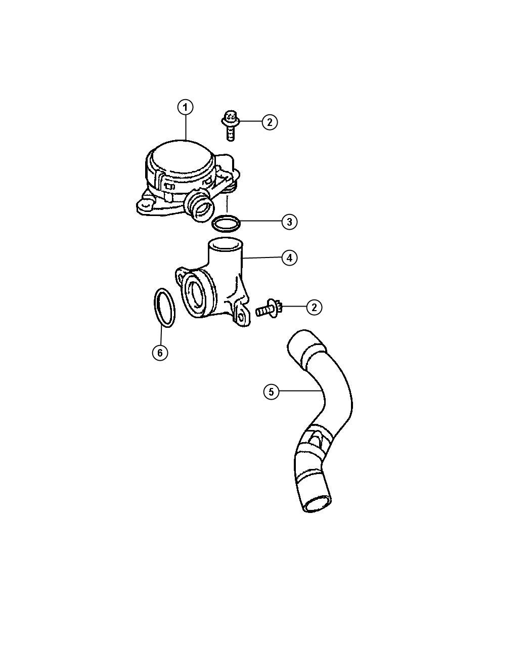 Jeep Grand Cherokee Heater Pcvsel Engine Air