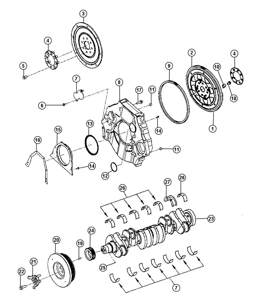 Dodge Ram Plate Adapter Manual Transmission