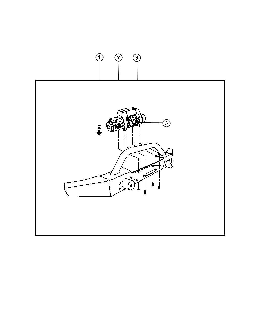 Jeep Wrangler Remote Control Winch Kit Model