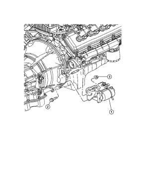 2009 Chrysler Aspen Starter Engine Remanufactured