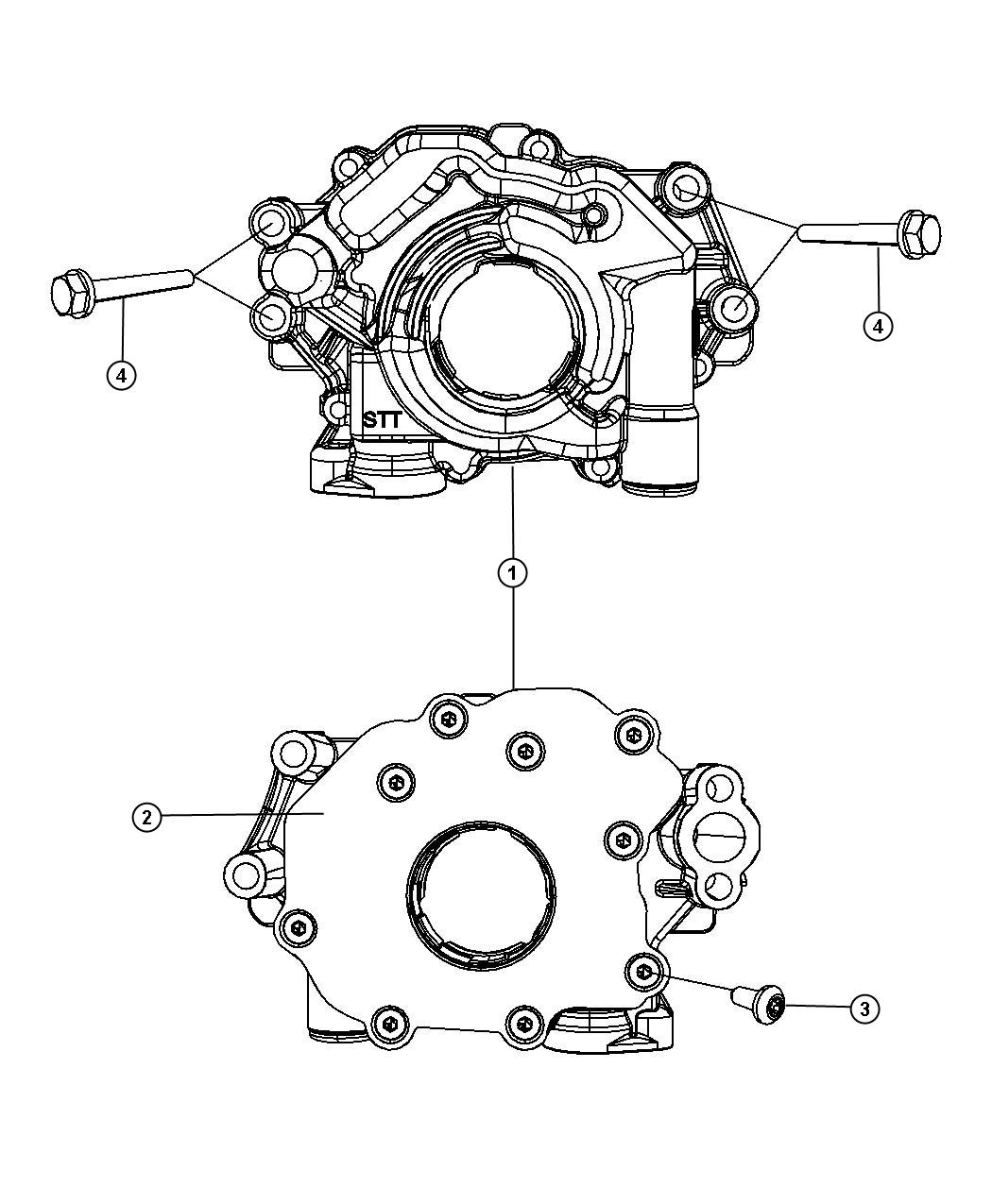 Dodge Durango Used for: BOLT AND CONED WASHER. Hex Head