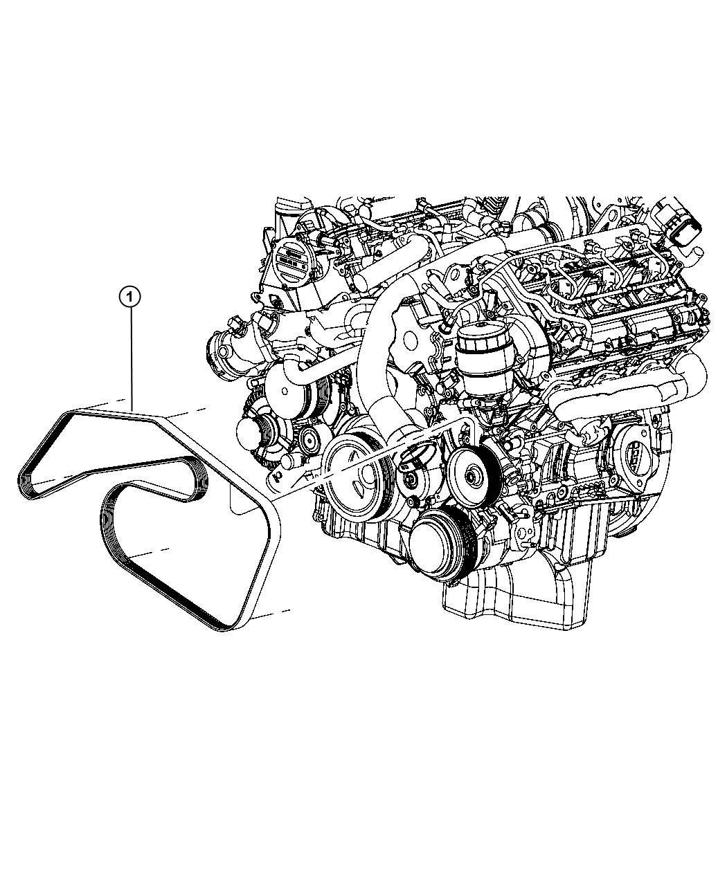 Dodge Sprinter Belt Serpentine With Air