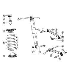 1999 Dodge Ram 1500 Front Axle Diagram Wiring For Panasonic Car Radio 2013 Charger Suspension