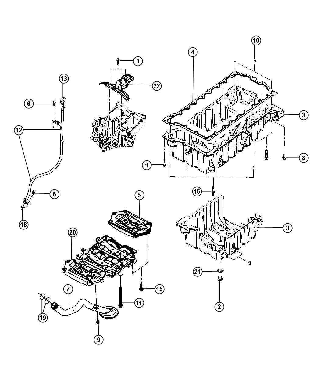 Chrysler Pt Cruiser Plug Oil Drain Enr Fluids Filters