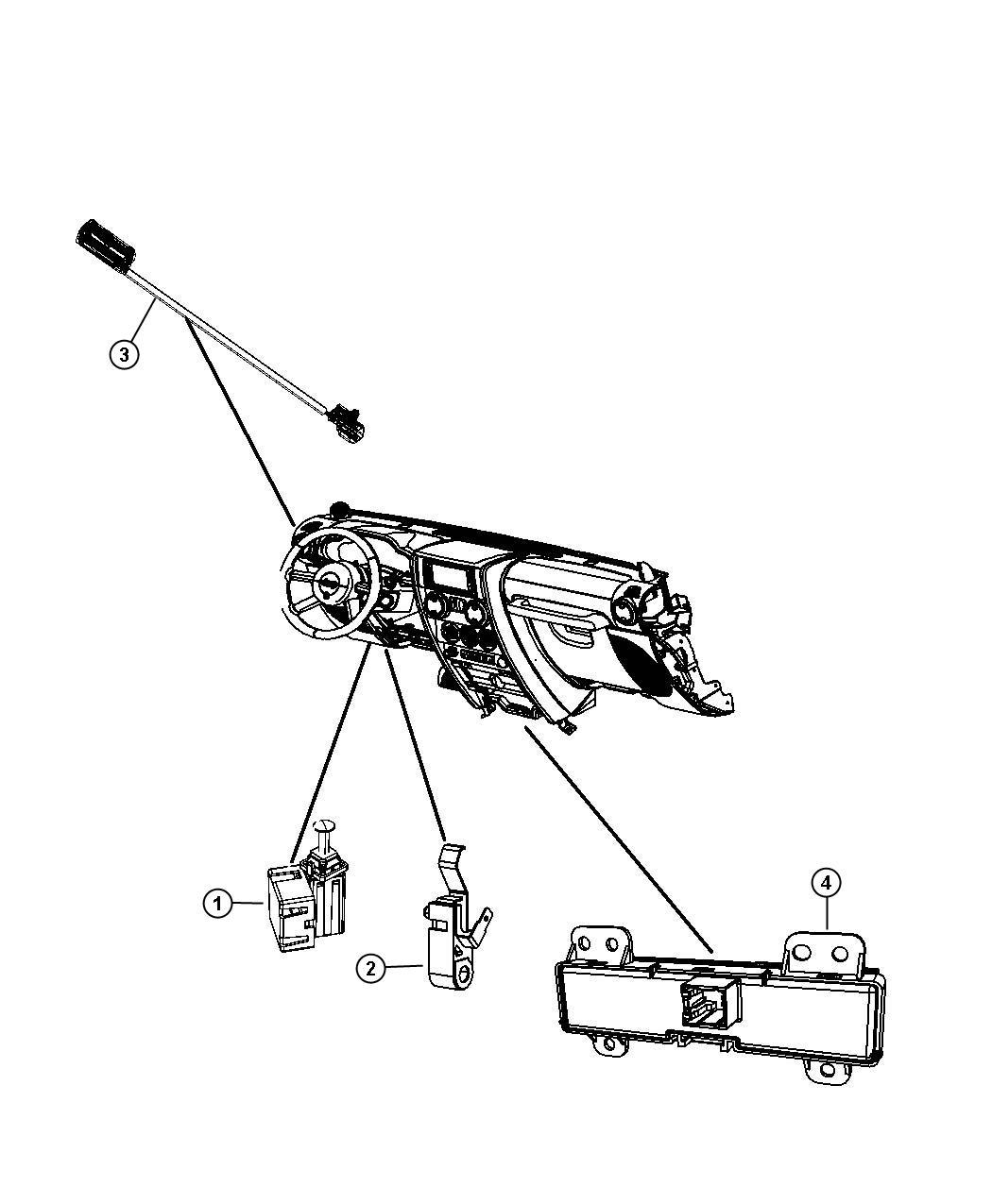 Jeep Wrangler Switch Pod Electronic Stability Program