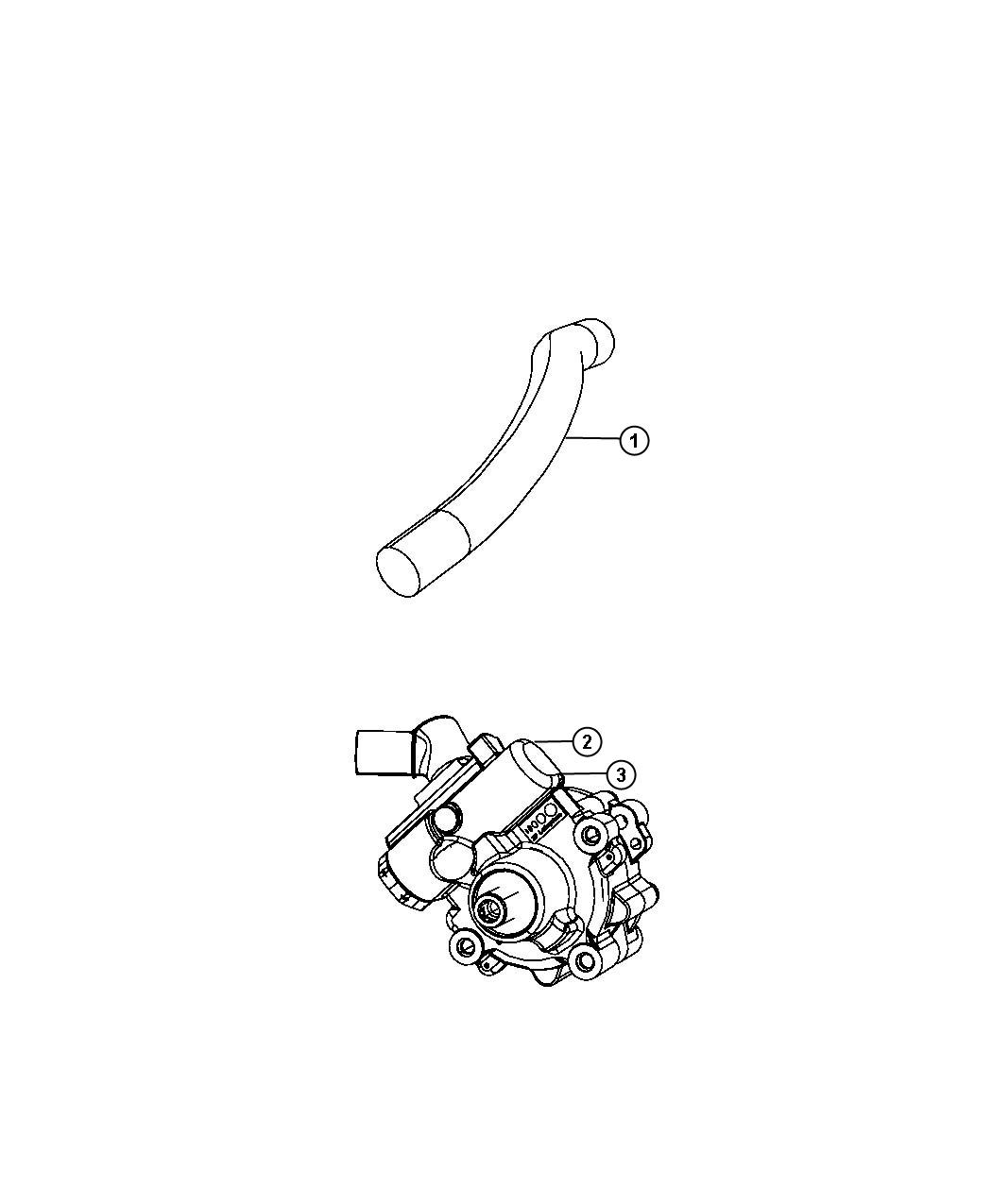 Jeep Wrangler Pump Pump Assembly Power Steering Power