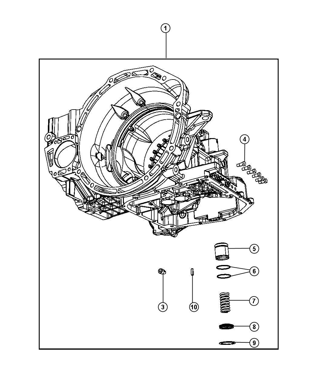 Chrysler PT Cruiser Plug. Pressure check. [super track pak