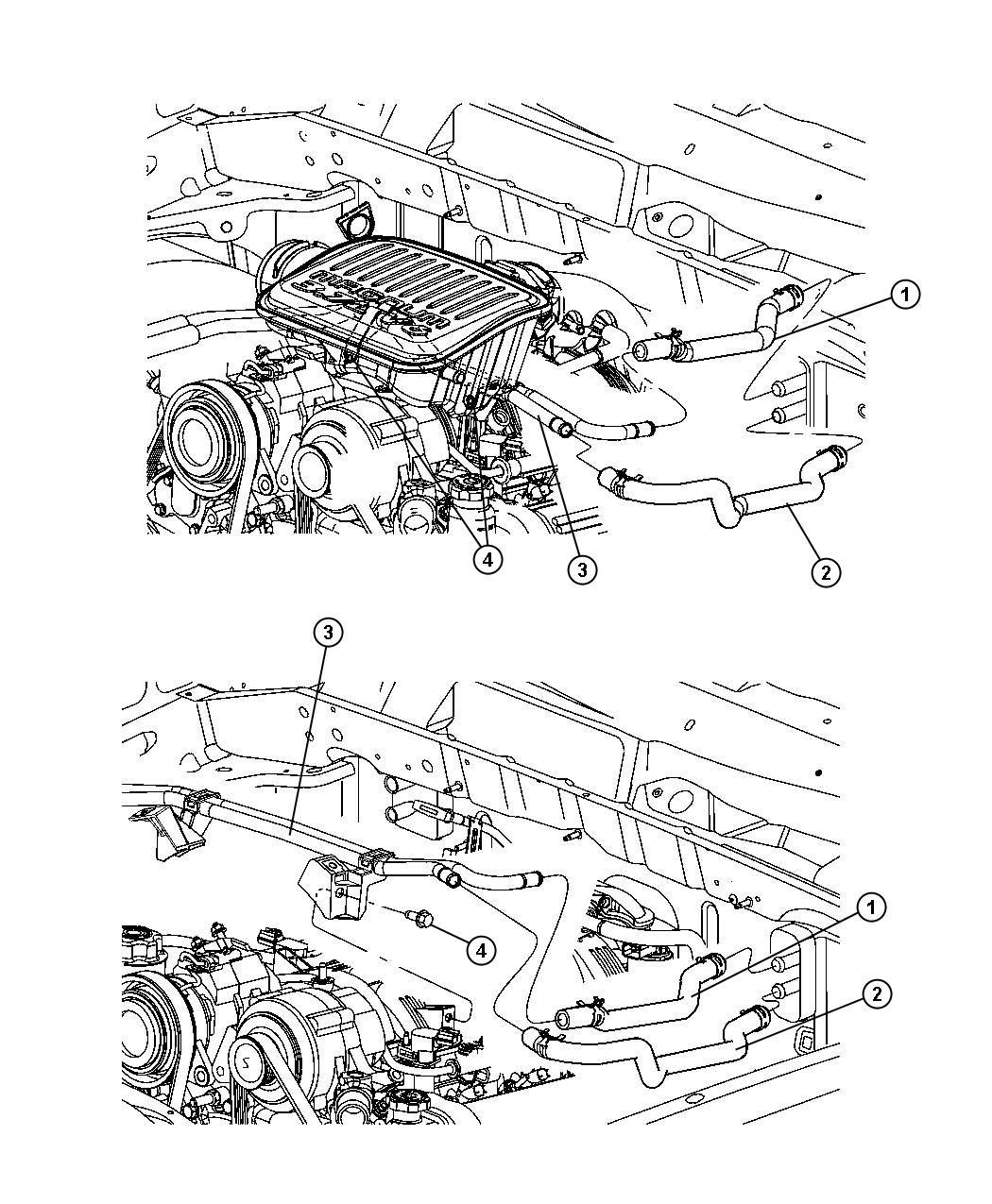 Dodge Dakota Used for: HOSE AND TUBE. Used for: Heater