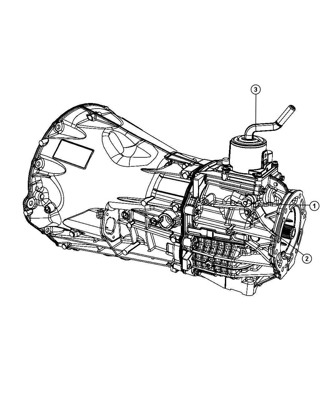 Dodge NITRO Shifter. Tower. Case, transmission, transfer