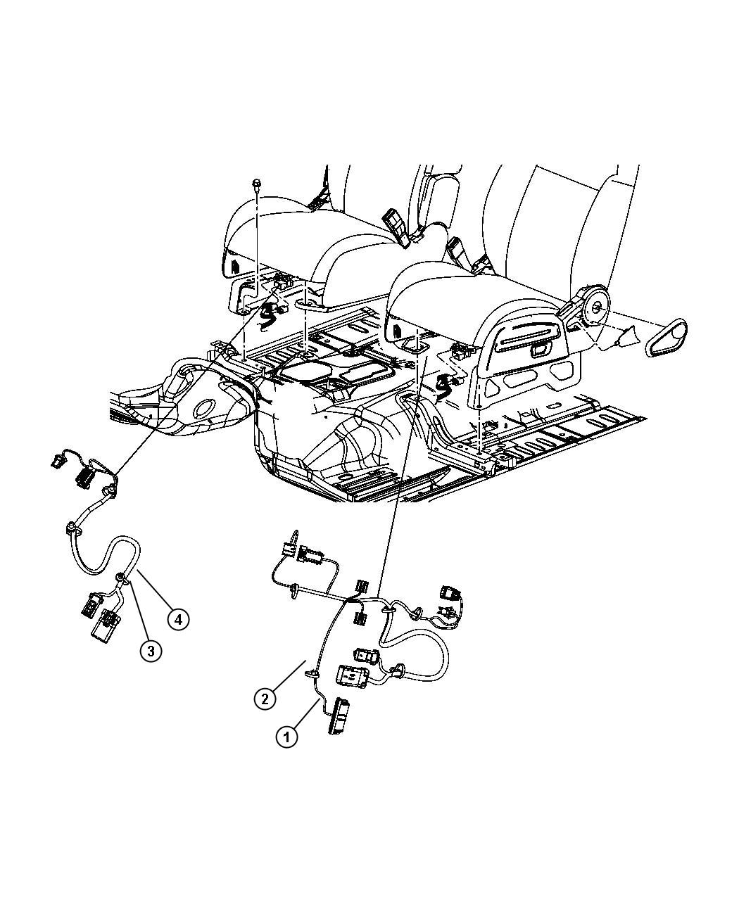Jeep Liberty Wiring. Power seat. Export. Power, heated