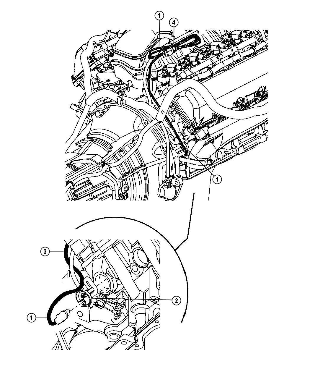 Jeep Commander Heater. Engine, engine block. 4.7l v8