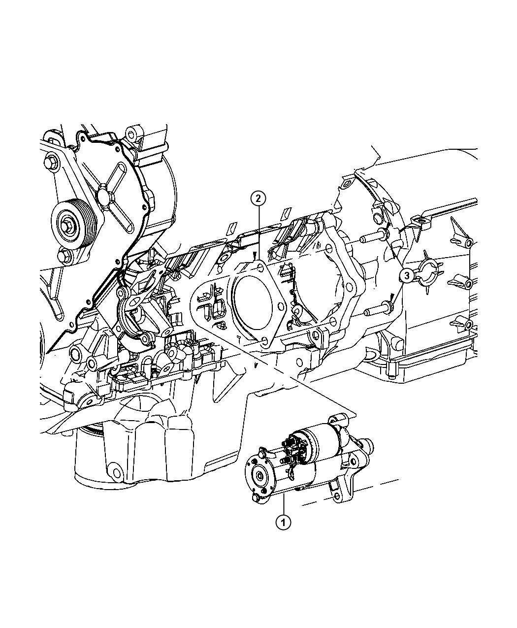 2009 Dodge NITRO Starter. Engine. Remanufactured. Starters