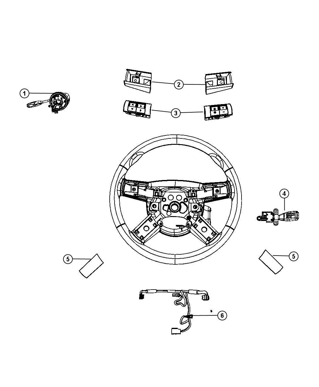 Dodge Challenger Switch Steering Wheel
